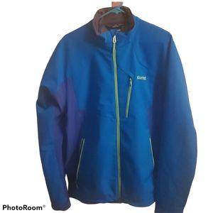 Marmot Blue and Green Windstopper Jacket
